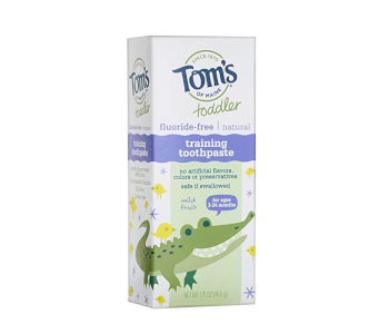 Tom's of Maine Toddlers Fluoride-Free Natural Toothpaste