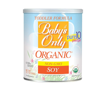 Baby's Only Soy Organic Formula