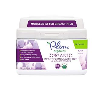 Plum Organics Organic Infant Formula