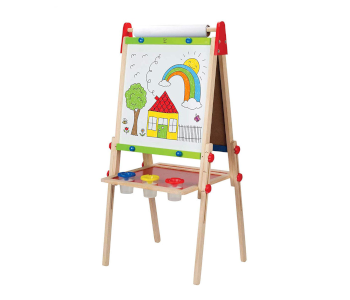Hape All-in-One Wooden Art Easel