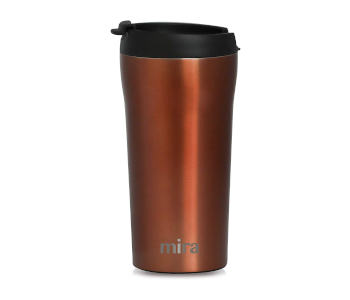 stainless steel insulated travel mug by MIRA