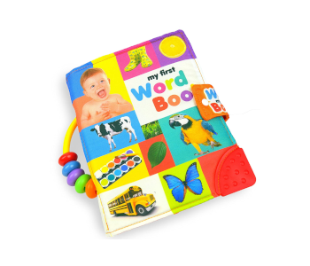 MAMMA Kiddie Soft Activity Book, My First Word Book, Best Cloth Book
