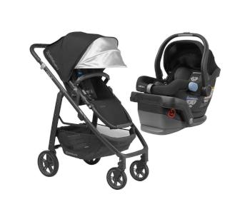 UPPAbaby Full-Size Cruz Toddler Baby Stroller & MESA Car Seat Bundle