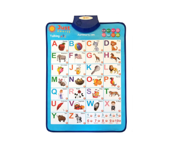 Just Smarty Electronic Interactive Alphabet Wall Chart